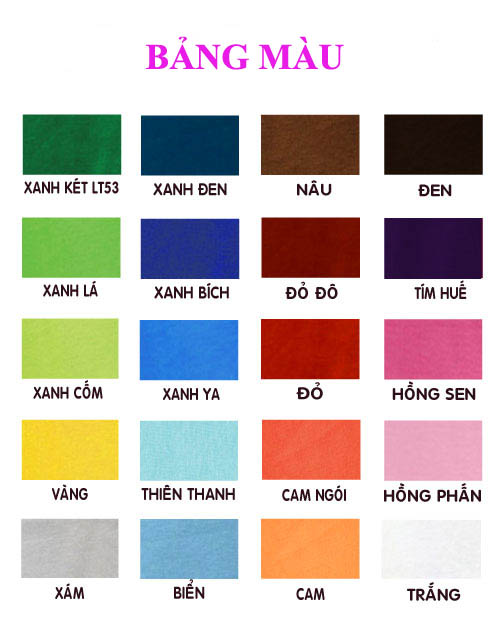 Bảng màu