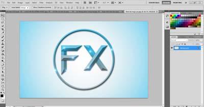 Thiết kế logo bằng PS
