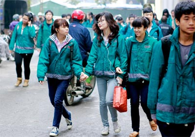 Áo gió, áo khoác đồng phục cho học sinh, sinh viên
