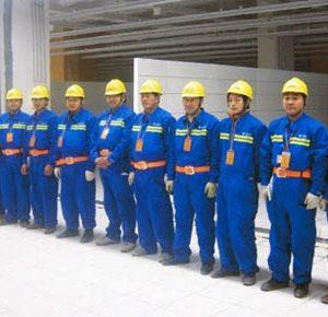 Đồng phục cho ngành xây dựng
