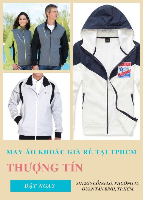 May áo khoác giá rẻ tại TPHCM