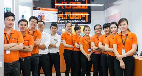 đồng phục bán hàng cho nhân viên