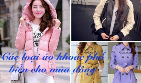 Các loại áo khoác phổ biến cho mùa đông ở Việt Nam