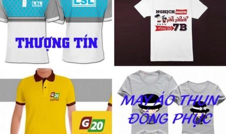 Xưởng may áo thun đồng phục giá rẻ TPHCM