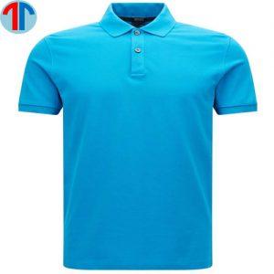 may áo thun xanh