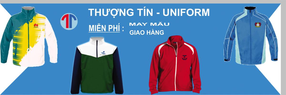 Banner áo may theo mẫu