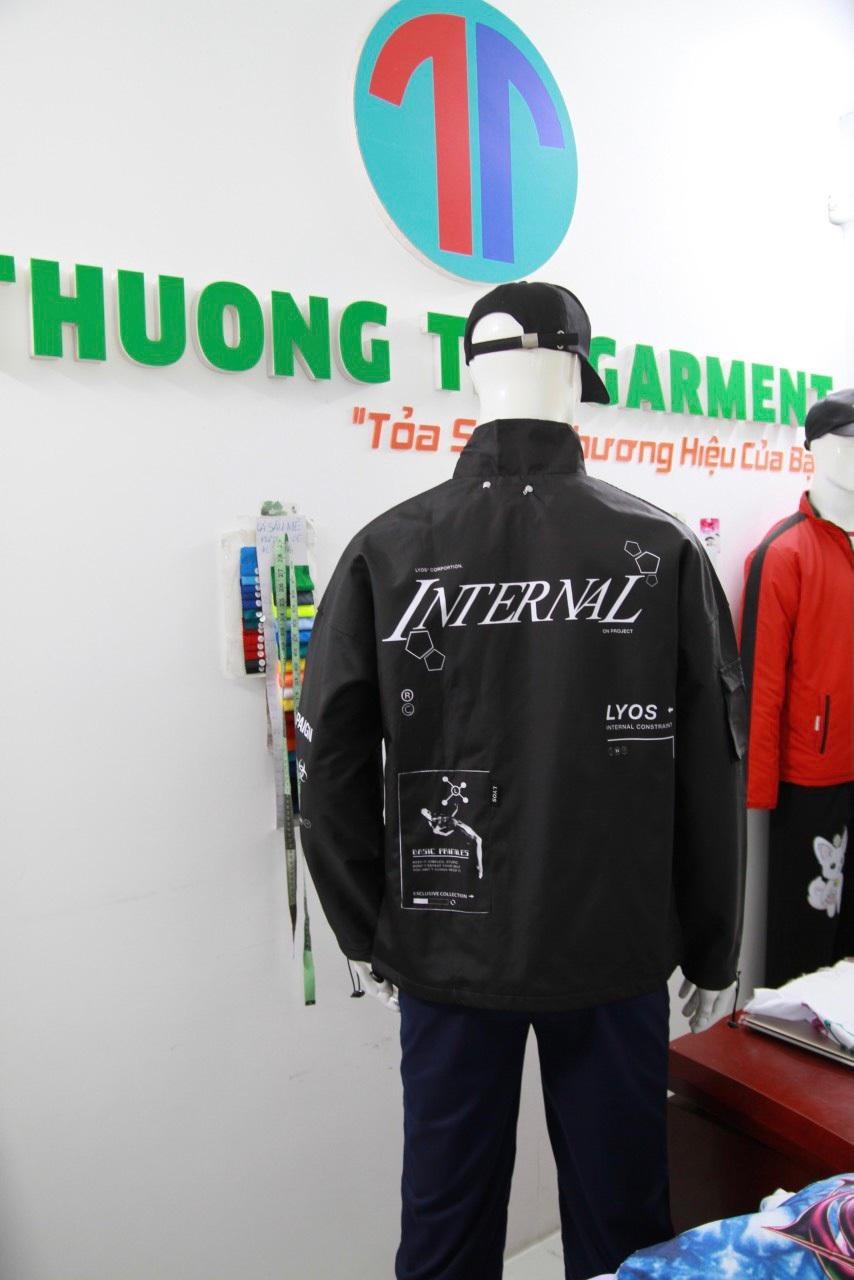 may áo khoác 2 lớp