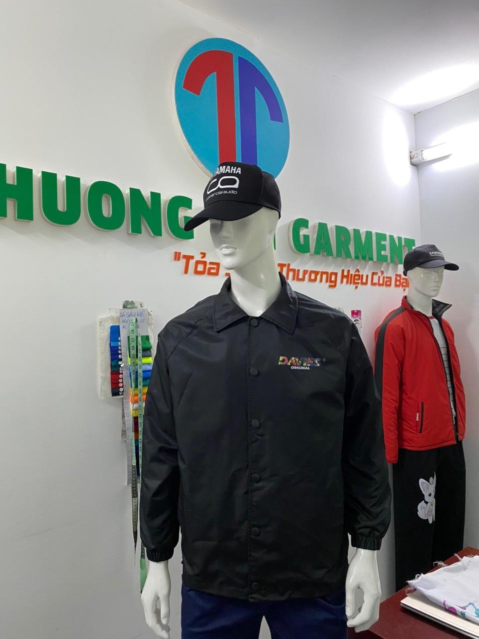may áo khoác quảng cáo