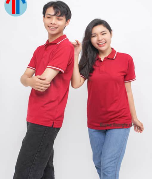 áo thun màu đỏ đô