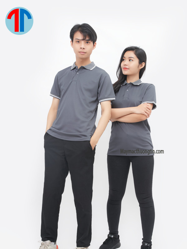 áo thun màu xám