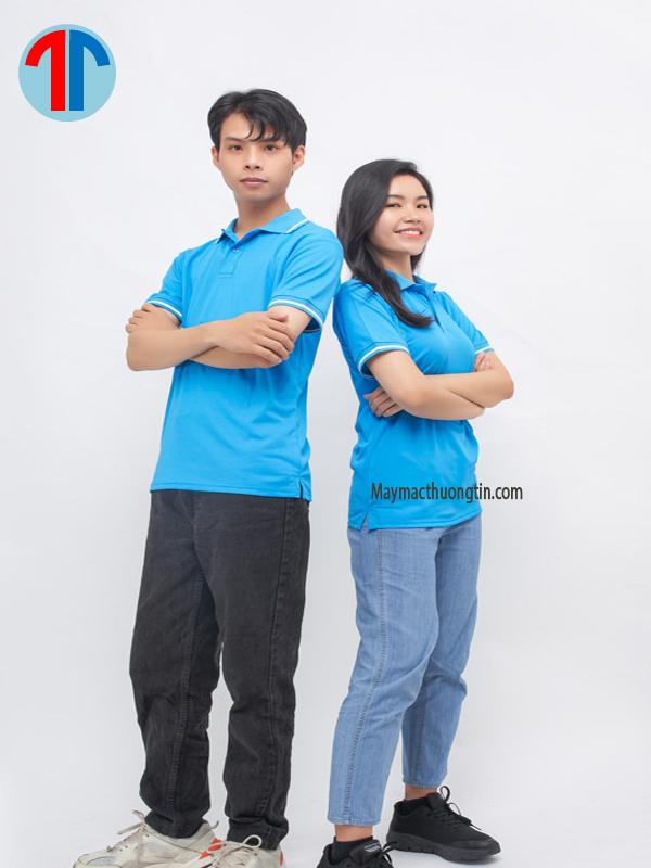 áo thun màu xanh