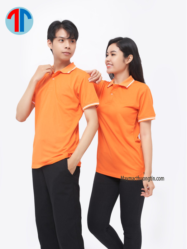 áo thun màu cam